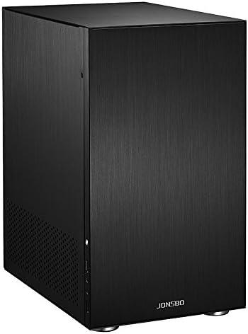 Cooltek C3 HTPC Negro - Caja de Ordenador (HTPC, PC, Aluminio, Negro, Micro ATX,Mini-ATX, 17,5 cm): Amazon.es: Informática
