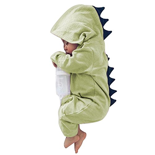 Butterfly Iron Toddler Baby Rompers Winter Autumn Hooded Newborn Infant Halloween Dinosaur Costume (4 Month Old Baby Halloween Costumes)