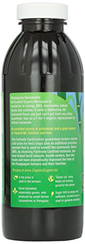 Wholesome Sweeteners, Blackstrap Molasses, 16 oz by Wholesome (Image #6)