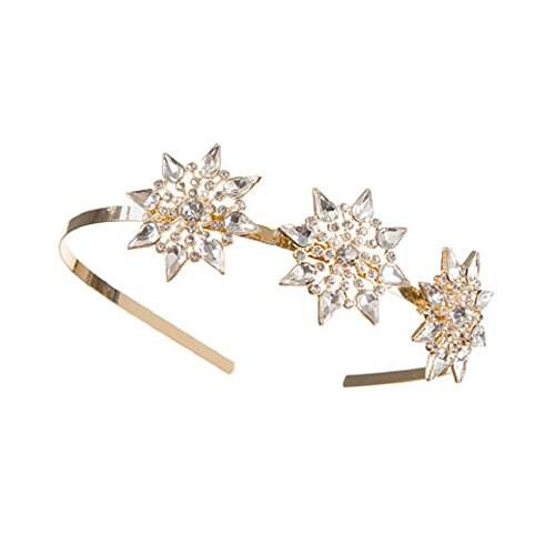 Darice David Tutera Gold 3 Starburst Embellishments Metal Bridal ()
