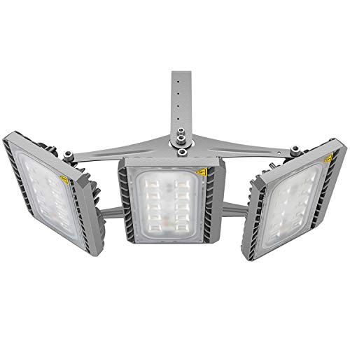 Security Area Light (LED Flood Light Outdoor, STASUN 150W 13500lm LED Security Lights with Wider Lighting Area, 3000K Warm White, Built with CREE LED Chips, Waterproof, Great for Yard Street Parking Lot)