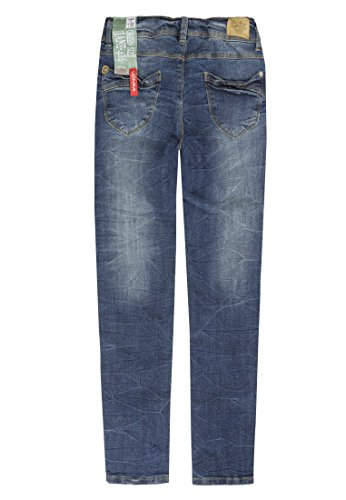 Niñas Lemmi Mid Girls Jeggings Azul Denim para Jeans blue Light Blue qrqX4