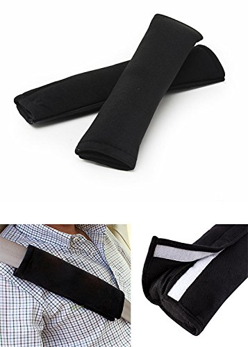 [4 Pieces] EX1 Car Seat Belt Shoulder Pad Cover Cushion Protector Comfort Safety