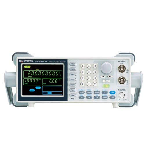 Instek Offset Generator (GW Instek AFG-2105 Arbitrary DDS Function Generator with Counter, Sweep, AM, FM and FSK Modulation, 0.1Hz to 5MHz Frequency Range)