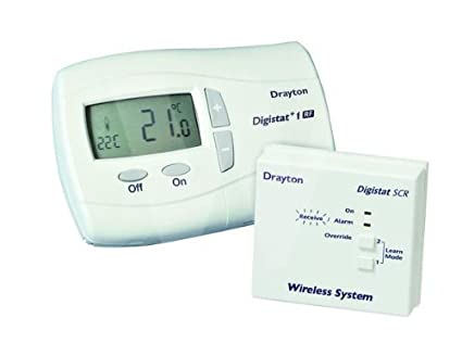Surprising Drayton Rf710 Digistat Plus 1 Rf Wireless Room Thermostat Amazon Co Wiring Digital Resources Remcakbiperorg