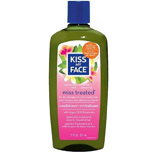 Kiss My Face Miss Treated Conditioner, Palmarosa Mint 11 oz