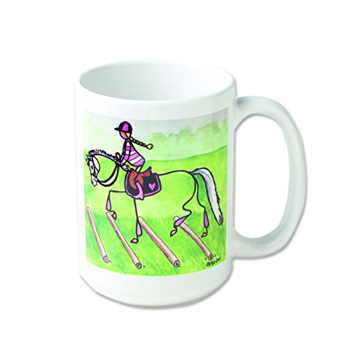 STICK Pony Over Cavalettis 15oz Ceramic Mug