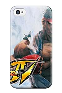 Florence D. Brown's Shop Best 9712078K51225552 High-end Case Cover Protector For Iphone 4/4s(street Fighter)