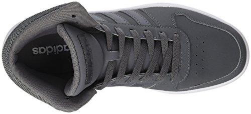 gegen adidas Sneakers grau 0 Bund mittlerem Hoop 2 mit Männer pfnw6aq