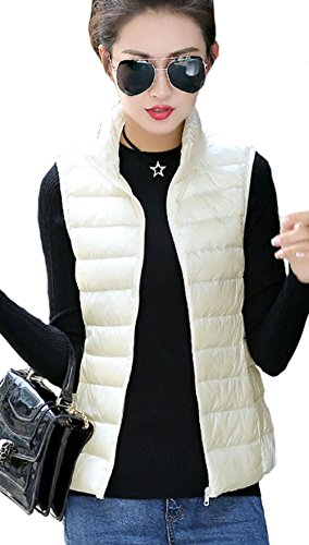 強い光電忙しい(ケイミ)KEIMI レディース ダウン ベスト 超軽量 ジャケット ノースリーブ ブルゾン アウター ショート丈 選べる 12色