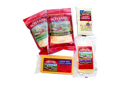Schtark Super Kosher 5 Flavor Cheese Assortment, 5 Count (Pack of 5)