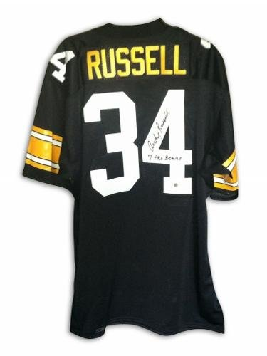 067f8e813 Andy Russell Autographed Jersey - with quot 7 Pro Bowls quot  Inscription -  Autographed NFL Jerseys