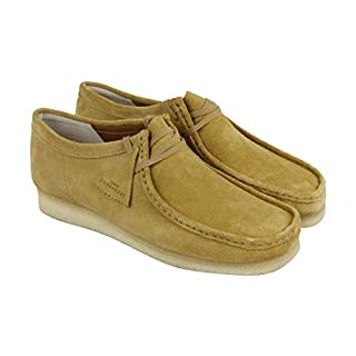 CLARKS Wallabee Mens Beige Suede Casual Dress Lace up Chukkas Shoes 10 (B072JLRM35) | Amazon price tracker / tracking, Amazon price history charts, Amazon price watches, Amazon price drop alerts