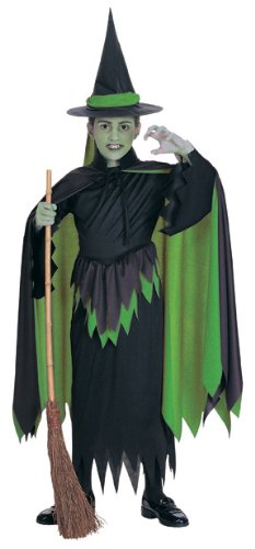 - Wizard of Oz Child's Wicked Witch Costume, Large
