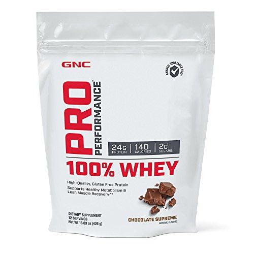 Gnc Protein Whey (GNC Pro Performance 100 Whey Protein - Chocolate Supreme 12)