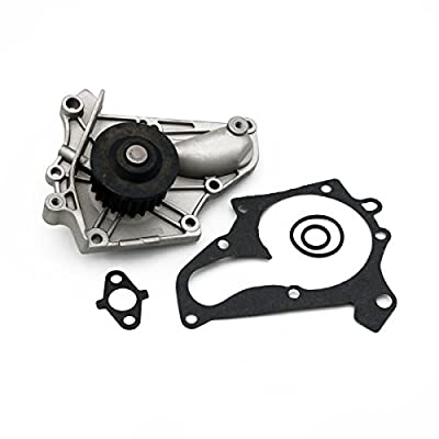 Timing Belt Water Pump Kit with Gasket Tensioner fit 1987-2001 Toyota Camry Solara, for 1986-1999 Toyota RAV4 Celica MR2 2.0L 2.2L 3SFE 5SFE: Automotive