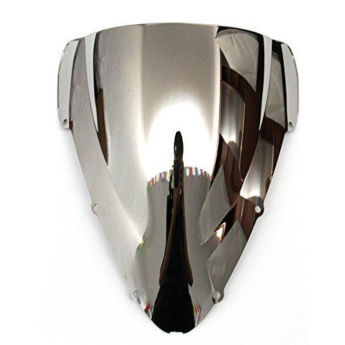 (OyOCycle Windshield for Honda CBR 600 F4i 2001-2007 2002 2004 2005 2006 Windscreen Wind Deflector Wind)