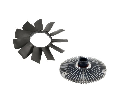 MTC Engine Radiator Cooling Fan Blade and Fan Clutch Kit for BMW E32 E34 E39 E36 E46 Z3 E53 | 11-52-1-712-058 | 11-52-7-505-302