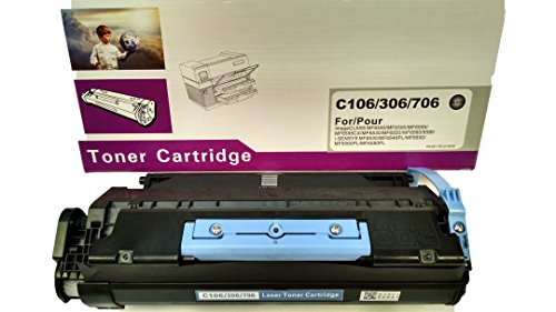 #106 Canon NEW Compatible Laser/Toner Printer Cartridge, Yields up to 5,000 pages, If out of Purple & white box stock, may come in Black & Blue box but same!:)