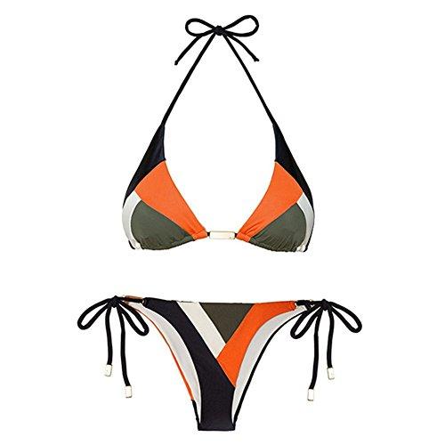 Beachwear Colore Bagno 2 Juleya Intero da Push Mare Costumi da Costume Due da Pezzi Imbottito Bikini Donna Brasiliano Costumi Up Bagno Swimwear Spiaggia 00xRCw