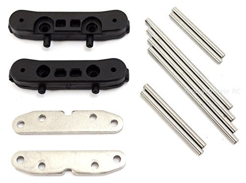 Redcat Racing Earthquake 3.5 Suspension Arm Mount Blocks & Hinge Pins; BS903-010