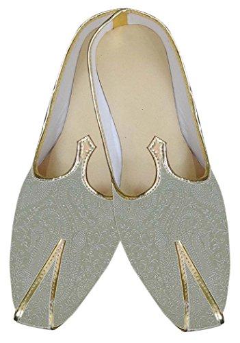 INMONARCH Mens Almond Brocade Shoes Paisley Design MJ0033 wmNcDHqzz