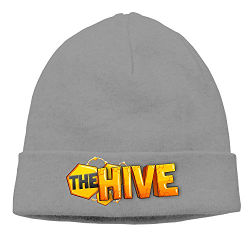 DETO Men's&Women's The Hive Patch Beanie MountaineeringDeepHeather Hats (Costume Stores Winnipeg)
