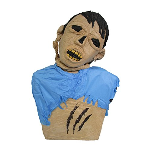 Large Zombie Torso Halloween Pinata, Party Game, Decoration and Haunted House Prop (Zombie Games For Halloween Parties)