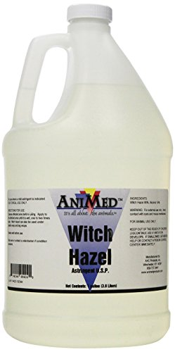 AniMed Witch Hazel 86-Percent Multi-Species Pet Supplement, 1 Gallon