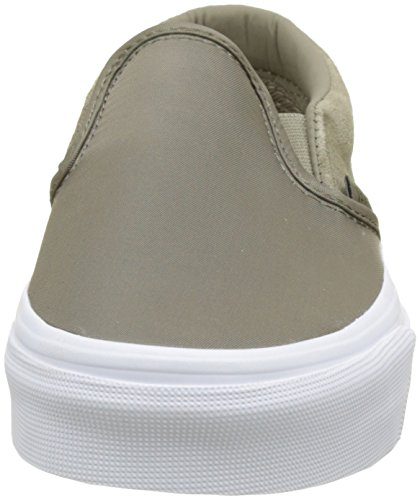 Nylon Zapatillas Classic Verde sin Adulto Cordones Slip Surplus Vans Unisex On F7UwSw1q
