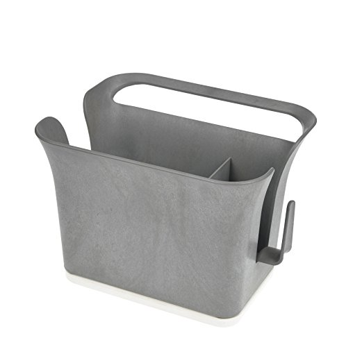 Full Circle Bright Bin Sink Storage Caddy, Bright Graphite