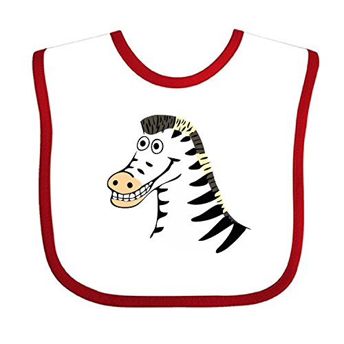 Circus Clipart - Baby Bib Large Toddler Zebra Clip Art Feeding Reflux Drool Teething Snap