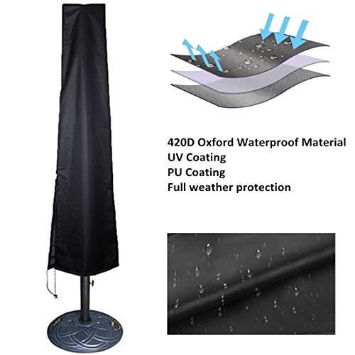 Owlike Umbrella Covers Patio Waterproof Parasol Covers With Zipper