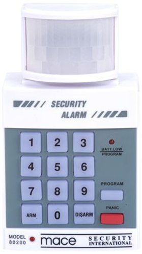 Mace 80200 PIR Motion Detector with Security ()