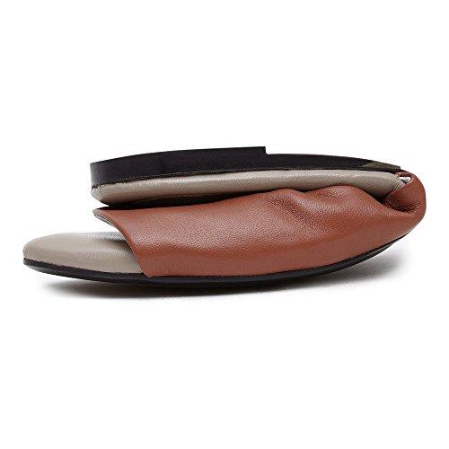 Cocorose Faltbare Schuhe - London Fields Damen Sandalen Braun