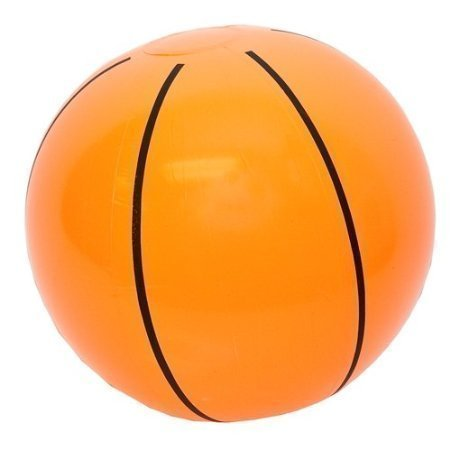 Inflatable Basketballs ~ 1DZ Basketball inflates ~ 16 inches ~ Sports Themed Birthday Favor ~ Decor Pool Beach Party Toy Prize Giveaway ~ New ~ (Beach Themed Pool)
