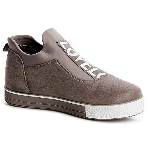Donna Donna Topschuhe24 Donna Sneaker Sneaker Topschuhe24 Sneaker Topschuhe24 Grigio Grigio Grigio Grigio Donna Sneaker Topschuhe24 wZ7E0E