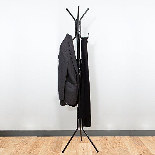 Mind Reader Hang 11 Hook Rack de metal: chaqueta, chaqueta ...