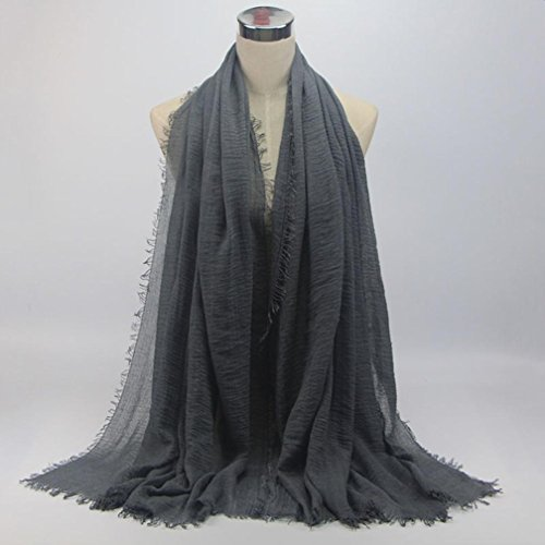 Cinnamou Mode Femmes Premium Viscose Maxi Crinkle Nuage Hijab Écharpe Châle  Doux Islam Musulman Châle Écharpe (A)  Amazon.fr  Vêtements et accessoires 373d17fde96