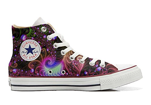 Converse All Star Customized - zapatos personalizados (Producto Artesano) Disco Fantasy