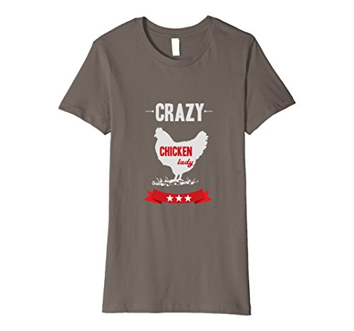 Crazy Chicken Lady T Shirt product image