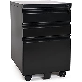 Amazon Com Hirsh Industries Llc 20 Quot Deep 2 Drawer Mobile