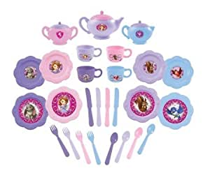 Amazon Com Sofia The First Dinnerware Set 26 Piece Toys