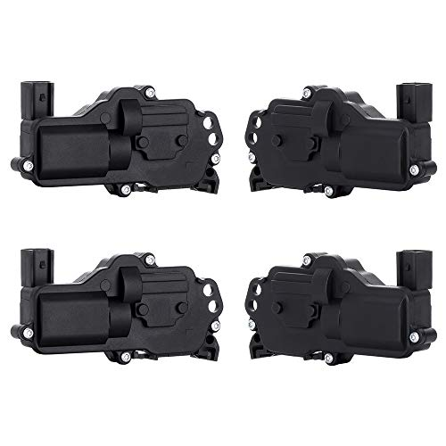 (SCITOO Power Door Lock Actuators Front/Rear Left/Right Door Latch Replacement Fits for 2002-2010 Ford 2002-2010 Mercury 2003-2008 Lincoln 746-162 4pcs)