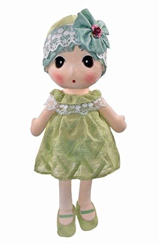 HWD Kawaii Stuffed Soft Plush Toy Doll Girls Gift , 16 Inch ( Green (Japanese Toy Dolls)