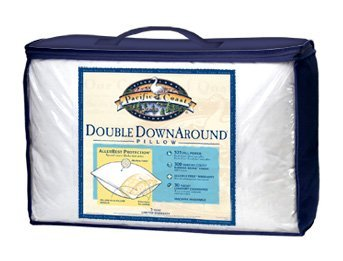 Pacific Coast Touch of Down Queen Pillow Set (2 Queen Pillows) - Featured in Many Hilton Hotels