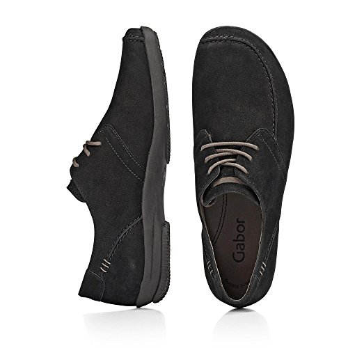 Black Gabor Iman Lace Up Shoe Aq7xIgq6