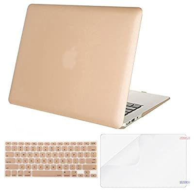 Mosiso Plastic Hard Case with Keyboard Cover with Screen Protector for MacBook Air 11 Inch
