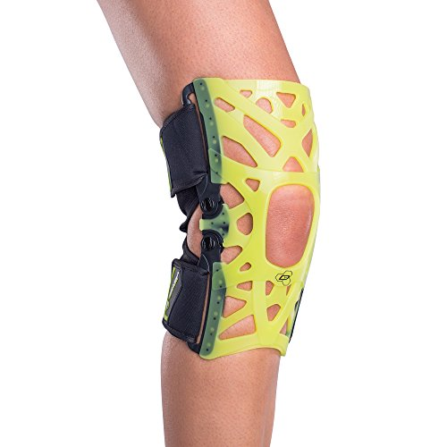 (DonJoy Performance WEBTECH Knee Support Brace with Compression Undersleeve: Slime Green, Medium)