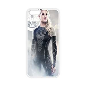 The Hunger Games Catching Fire Cashmere iPhone 6 Plus 5.5 Inch Cell Phone Case White&Phone Accessory STC_935334